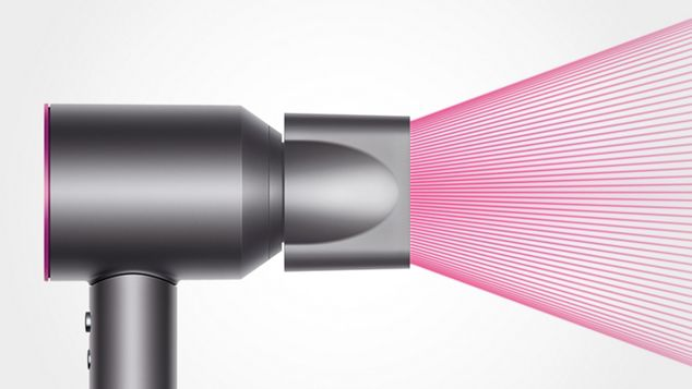 Dyson Supersonic Hair Dryer Iron Fuchsia Color Dyson